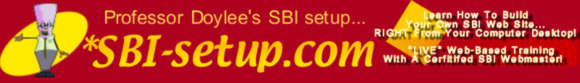 SBI Setup Graphic